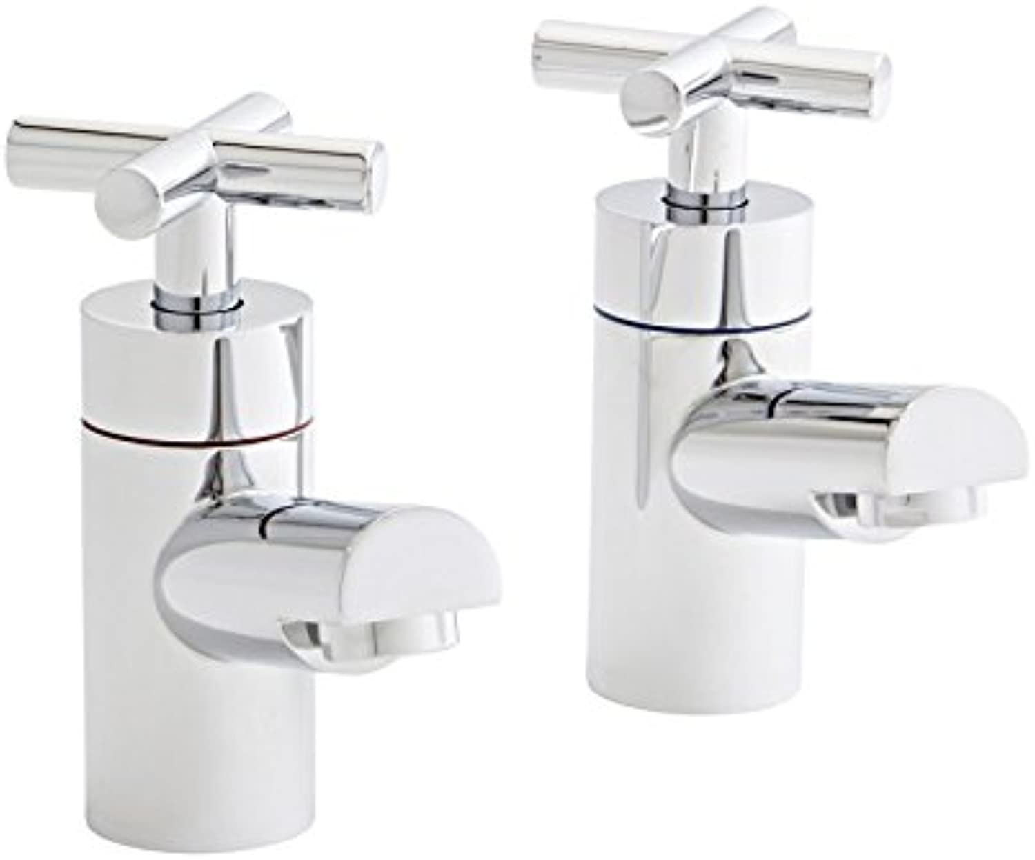 Kartell Times Brass Basin Taps Pair