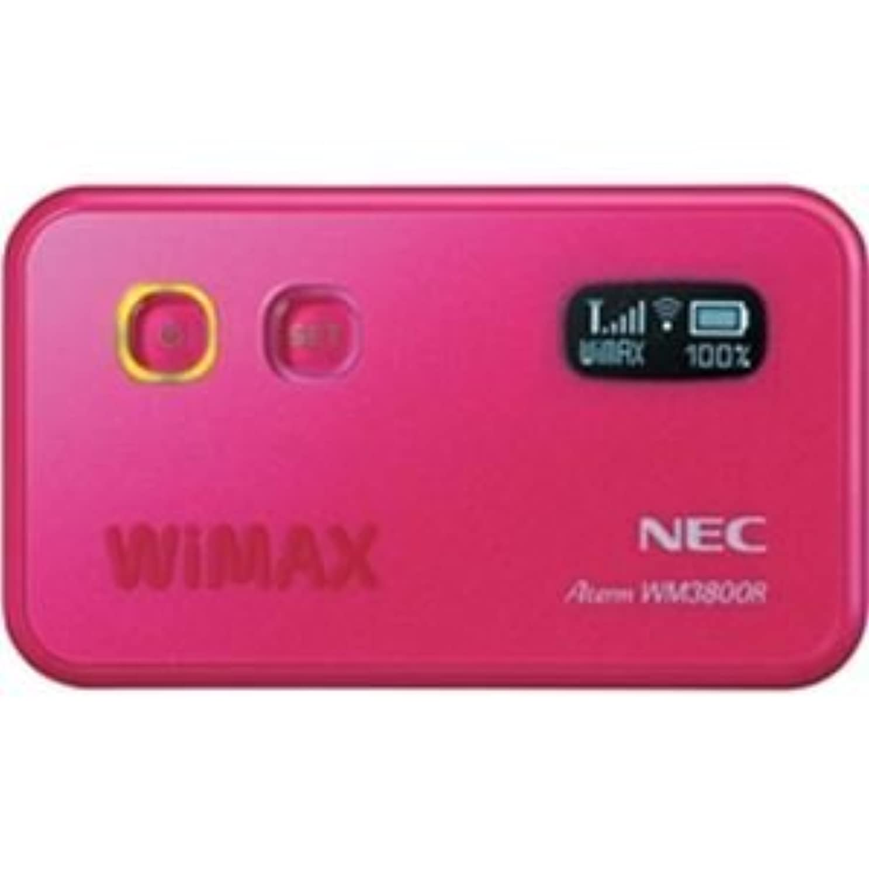 日本電気 DIS mobile WiMAX専用WiMAXモバイルルータ AtermWM3800R ピンク PA-WM3800R(DW)P
