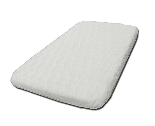Suzy Microfibre Hypoallergenic Crib Mattress 4cm Thick: to Fit The Chicco Next 2 Me Crib British Made