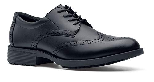 Shoes For Crews Executive Wingtip Ii - Ce Cert Herren Arbeits- und Schuhe, Schwarz (Black), 43 EU (9 UK)