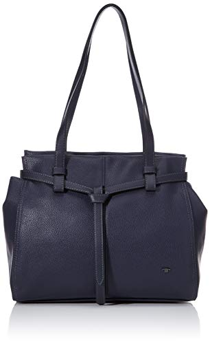 TOM TAILOR Acc Damen Lina Shopper, Dunkelblau, M