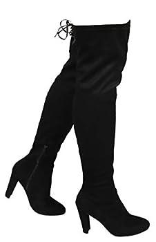 Best wide thigh high boots Reviews