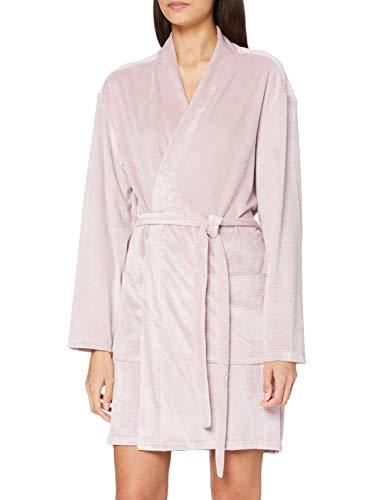 Calvin Klein Damen Quilted Robe Pyjamaset, Amnesie, M-L