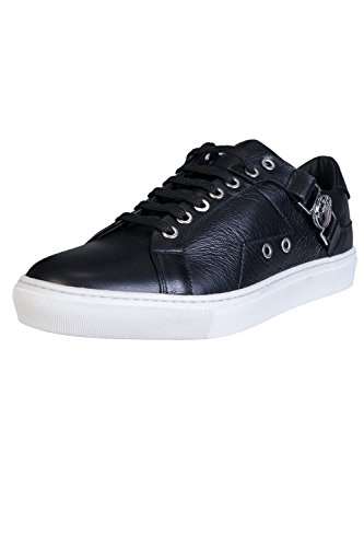 Versace Collection Saddle Low Top Herren Sneaker Schwarz