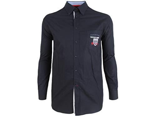 Paul & Shark Yachting Langarm Hemd Long Sleeve Shirt Größe 46 18