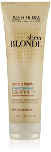 John Frieda Sheer Blonde Lustrous Touch Strengthening Conditioner, 8.45 Fluid Ounce (Pack of 2) by KAO Brands [Beauty] (English Manual)