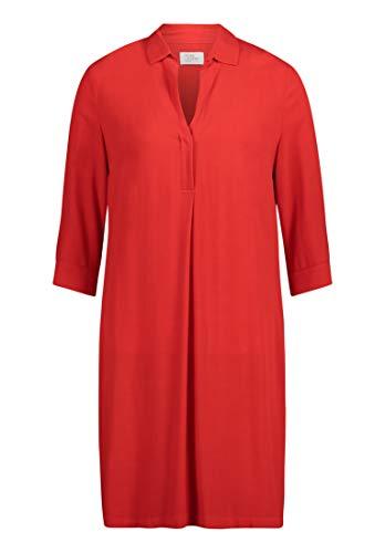 Vera Mont Damen 6004/4038 Kleid, Rot (High Risk Red 4067), (Herstellergröße: 36)