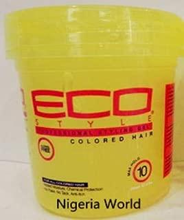 Shreeyas Free Delivery World Eco hair Styler styling gel Gel / 236ml (1 bottles) : yellow