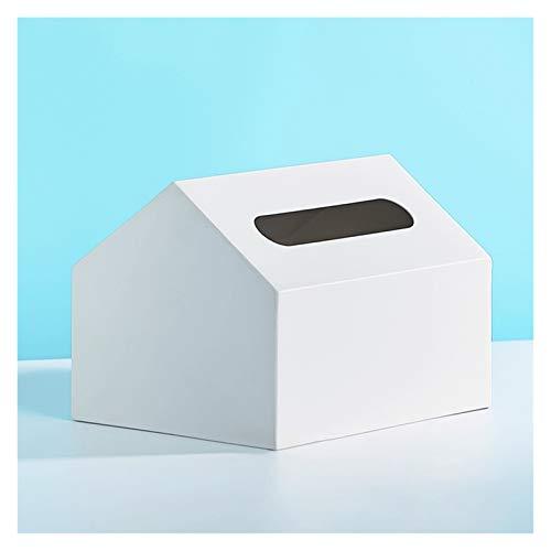 Tissue Holder Box Copertura della scatola del tessuto del desktop carino, distributore di tovaglioli del titolare del tessuto della scatola del tessuto della semplicità per il ristorante dell'ufficio