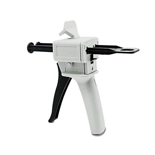 Angle ruler 50ml Dispenser Gun Kit. Impression Gun Mixing Dispensing Glue Gun Applied to 50ml 1:1,2:1 AB Plastic Dispenser Glue Tube