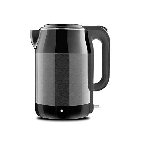 Home Electric Kettle | Free with Borosilicate Glass & Stainless Steel - 1.7 Liter Rapid Boil Cordless Tea with Automatic Shut Off - The Best Hot Water Heater for Tea, Coffee, Soup, and More