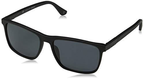 Police Herren WESTWING 4 Sonnenbrille, Schwarz (Matt Black/Black), 58.0
