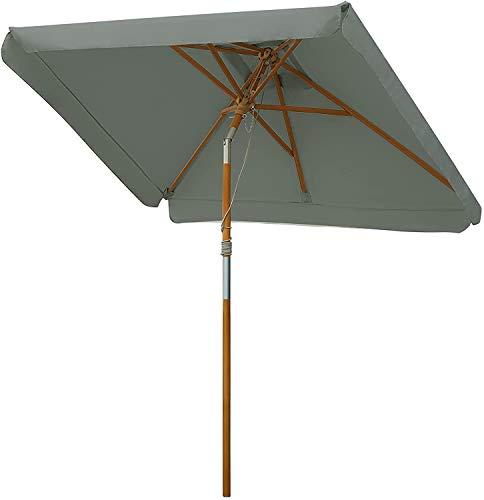 MVPower Parasol, sombrilla rectangular, protección solar Pa