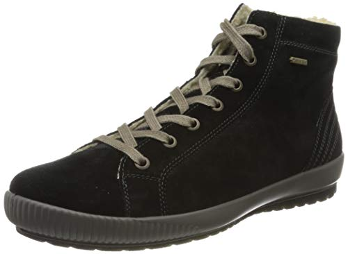 Legero Damen TANARO warm gefütterte Gore-Tex, High-Top Sneaker, Schwarz (SCHWARZ 00), 39 EU (6 UK)