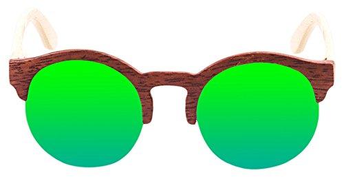 PALOALTO - Gafas de sol Meñakoz madera avellana, natural - P65002.3