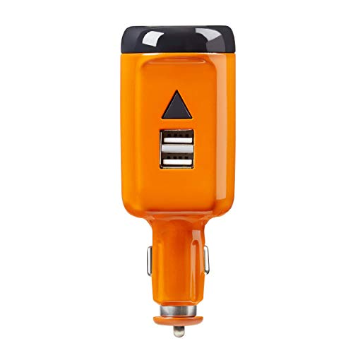 Dead Down Wind Dead Zone DZone 2 Go Ozone Car Plug in Car Deodorizer and Air Freshener, Portable Ozone Generator for Car, Vehicle Odor Eliminator for Food, Pet and Other Car Odors