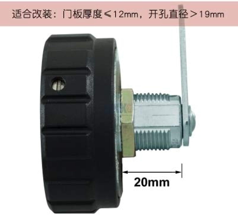 Mechanical Staff Locker File Cabinet Password Lock Key Double Unlock can Retrieve Modification  (color  20mm)