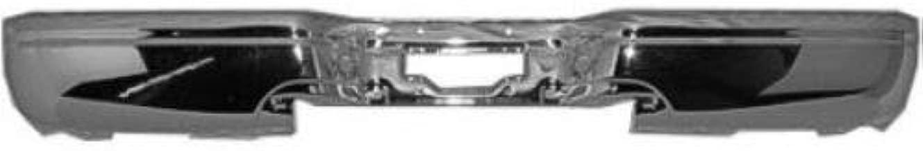 Chrome NSF FO1102304 Rear Bumper Face Bar for 99-07 Ford F Super Duty