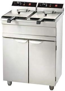 Friteuse professionnelle électrique - 2 x 9 litres - 2x 3,3 kW - Combisteel -