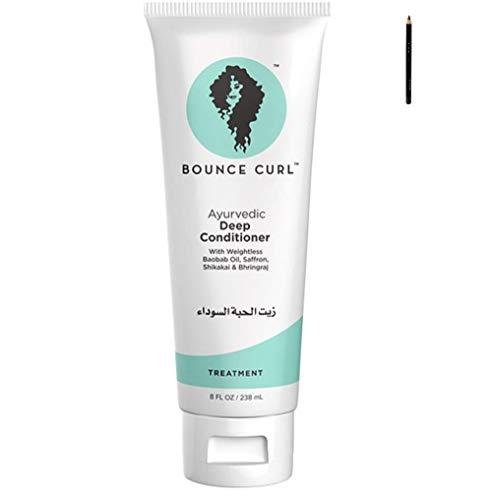 Bounce Curl Ayurvedic Deep Conditioner | Curly Hair Deep Conditioner | Curly Hair Product | 8oz, 238ml