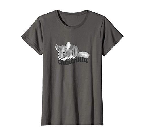 Mujer Mascota chinchilla Camiseta
