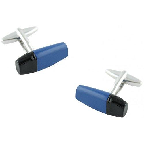 MasGemelos - Gemelos Subrayador Azul Cufflinks
