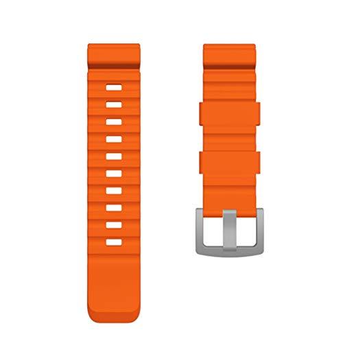 LAAGFC 24mm Colorido Banda de Reloj para Reloj de Borde Norte Reloj de Reloj Inteligente Activo para Samsung Galaxy Watch para Huawei Watch Reemplazo de Nueva Correa