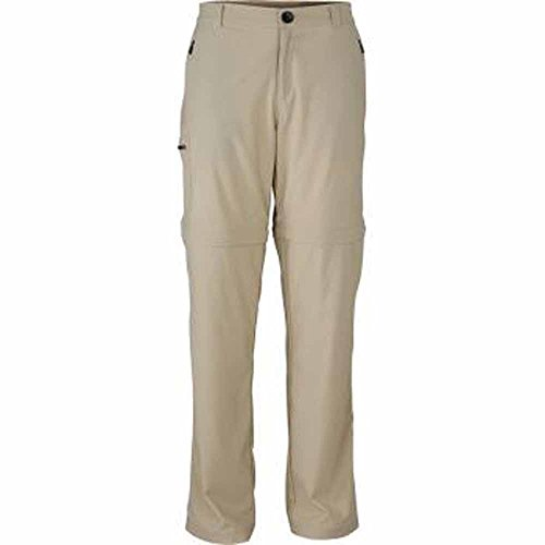 JAMES & NICHOLSON JN583 - Pantaloni da trekking 2 in 1, da uomo, JN583, pietra, X-Large