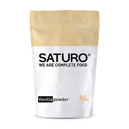 Eiweißpulver Vanille Saturo, bis zu 32 Mahlzeiten, Ideal als Mahlzeiten Ersatz oder Diät Shake, Laktosefrei, Vegan, von Führenden Experten Entwickelt und mit Sorgfältig Ausgewählten Rohstoffen…