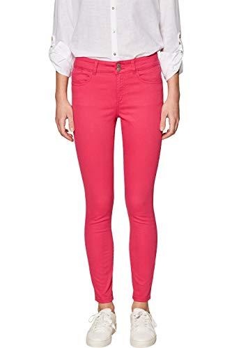 edc by ESPRIT Damen 029CC1B020 Hose, Rosa (Pink Fuchsia 660), W38/L28(Herstellergröße: 38/28)