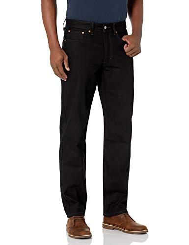 Levi's® Men's 550™ Relaxed Straight Fit Jeans - Black 32x32