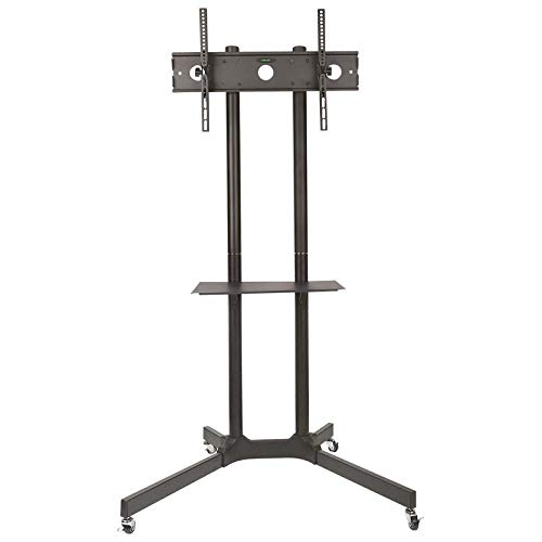 MONIFOX Soporte de pie para TV Soporte con Ruedas, Estante, LG 55' 55UK7550