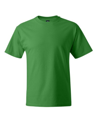 Adult Hanes 6.1-oz Beefy-T T-Shirt - 5180 Shamrock Green Small