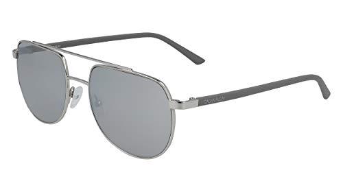 Calvin Klein Gafas de Sol CK20301S SILVER/GREY 54/18/145 hombre