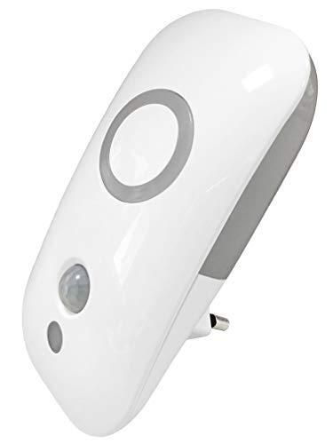 Müller-Licht LED Nachtlicht Agena Sensor - mit Bewegungs-/Dämmerungssensor - dezente Grundbeleuchtung - 1.8W - 1500 K