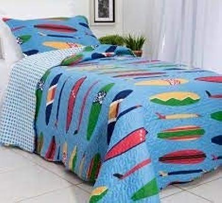 891ada7f7e Colcha Solteiro Matelasse Infantil 180x 220 Surf Rozac