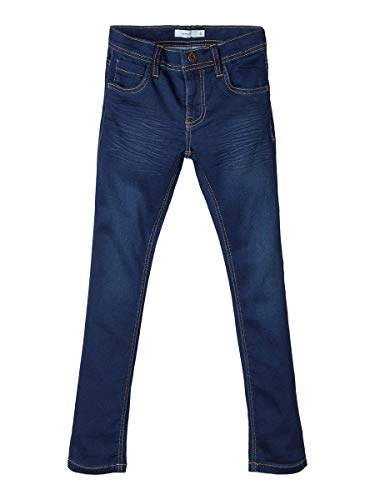NAME IT Boy Jeans Regular Fit Sweatdenim 110Dark Blue Denim