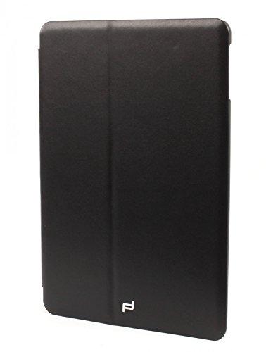 mächtig Porsche Design Classic Herren Aktentasche für iPad Air, Organizer mit 2 Taschen, Schwarz (Schwarz…