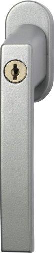 ABUS FG210 Fenstergriff abschließbar, silber