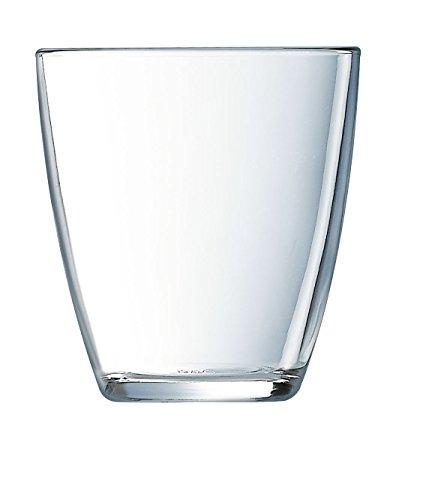 Luminarc Concepto Lisse - Set de 6 vasos, forma alta, 31 cl,...