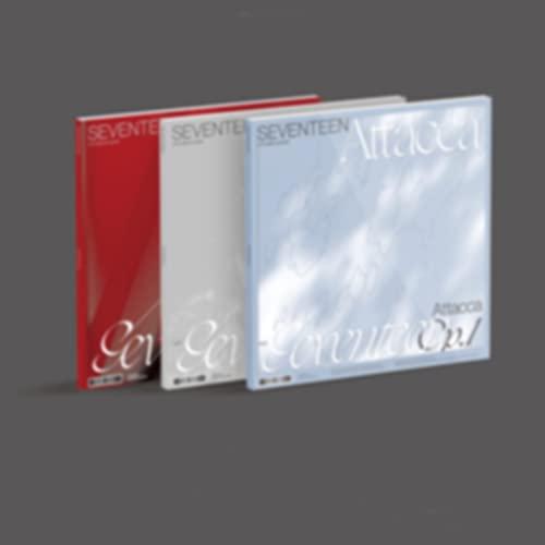 Seventeen Attacca (9th Mini Album + póster plegable + juego de tarjetas fotográficas extra (Op.3)