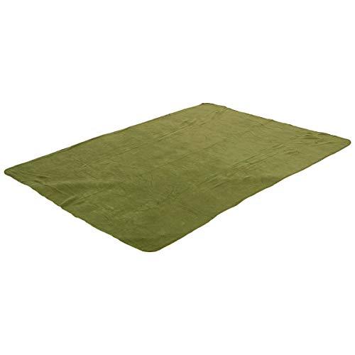 Highlander Fleecedecke grün olivgrün