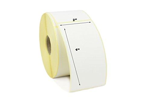 label Metrics–5,1x 10,2cm Thermodirekt Etiketten (50x 100mm) Drucker Etiketten. Für Zebra, Citizen, satō, 1