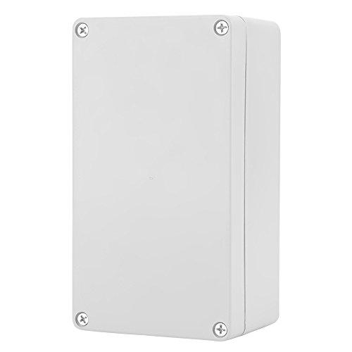 Caja de Conexiones de Plástico, IP65 ABS Caja Instrumentos Eléctrica para Caja de Proyectos Eléctricos Resistente al Agua, para Interiores y Exteriores Eléctricos(158 * 90 * 60mm)