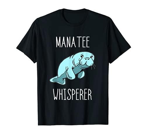 Seekuh Flüsterer Manatee Whisperer Seekühe Ozean Tiere T-Shirt