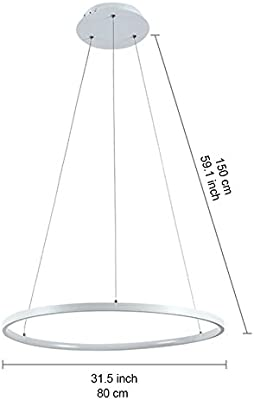 Lucide 16428/40/12 - Lámpara de techo (40 cm de diámetro ...