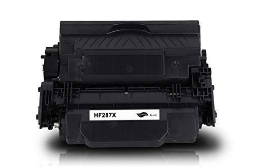 Tonerversum Toner compatible con HP CF287X 87X Negro black para Laserjet Enterprise M506 M506dn M506x M527 M527dn M527f Pro M501dn Impresora láser