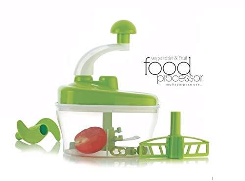 Sarvin Jony Manual Food Processor - Chopper, Blender, Atta Maker, Dough Kneader (Multicolor)