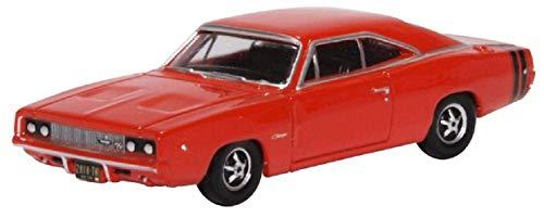 Oxford 87DC68001 Compatible con Dodge Charger Rojo Escala 1:87