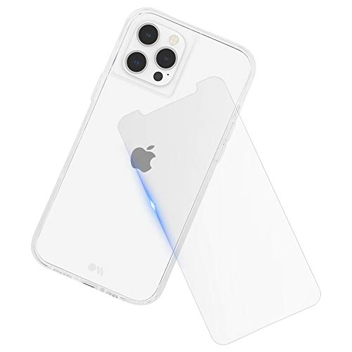 Case-Mate - Protection Pack - Tough Clear Case & Screen Protector for iPhone 12 Pro Max (5G) - 10 ft Drop Protection - 6.7 Inch, Bundle Clear